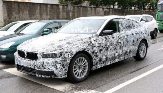 BMW 5-Series GT нового покоління помітили під час тестів (Фото)