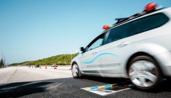 Нове покоління «лежачих поліцейських» приємно здивує водіїв (Відео)