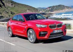 BMW працює над другим поколінням кросовера X4
