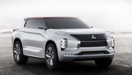 Mitsubishi презентує «туристичний позашляховик» (Фото)