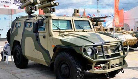 В Україні створили бойовий безпілотний бронеавтомобіль (Фото)