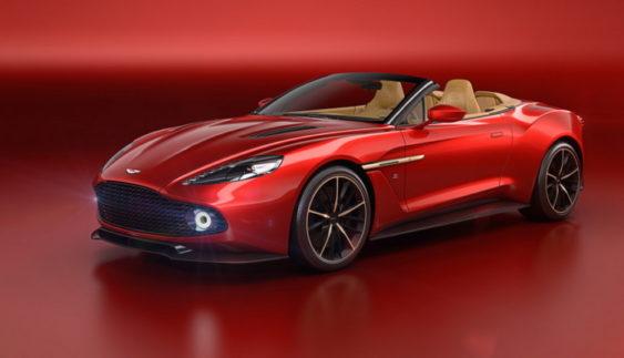 Aston Martin Vanquish Zagato Volante: кабріолет з карбону за $ 850 000