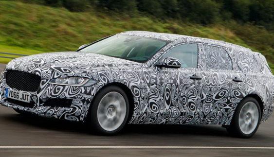 Новий універсал Jaguar XK викотили на тестові випробування (Фото)