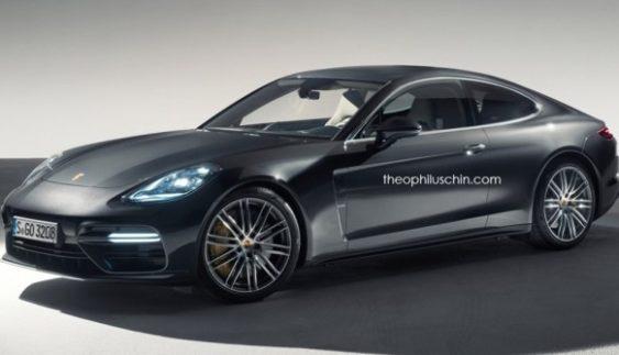 Опублікували зображення купе Porsche Panamera