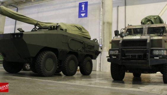 Вітчизняний виробник розробив бойову машину Атаман 6х6 (Фото)