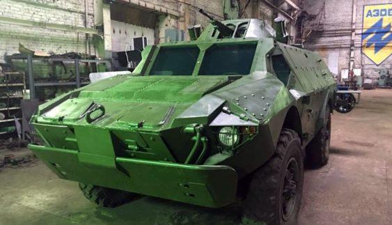 Броньована машина БКМ від інженерної групи «Азова» (Фото)