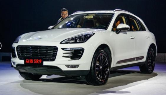 Китайську копію кросовера Porsche Macan запустили у виробництво (Фото)