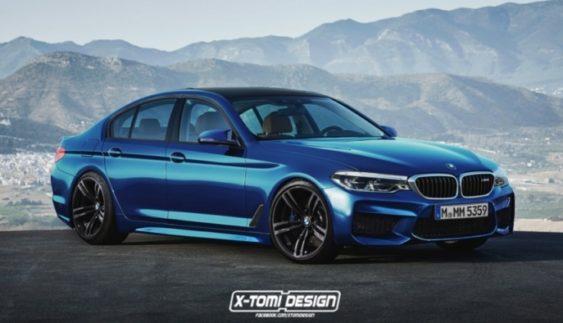 Перші зображення нового покоління BMW M5
