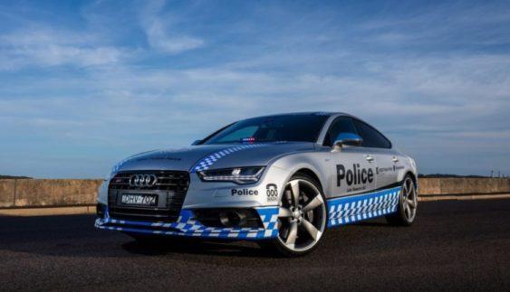 Поліцейські отримали на службу Audi S7 (Фото)