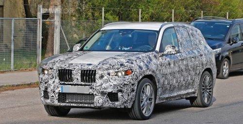 Новий BMW X3 помітили під час тестів (Відео)