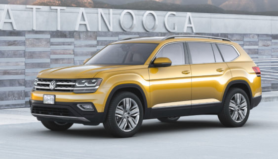 Volkswagen представив великий кросовер