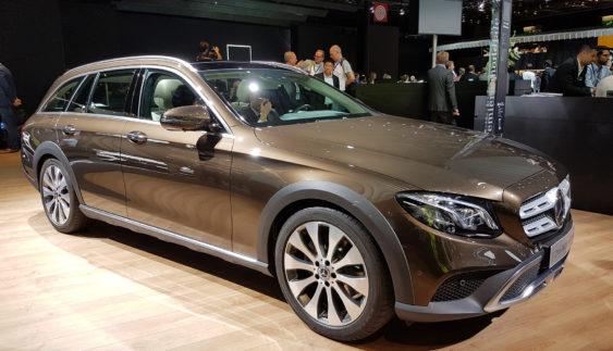 Mercedes-Benz випустив позашляховий Е-клас (Фото)