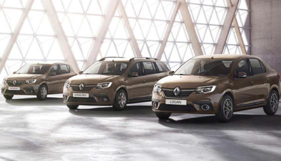 Опубліковані фото оновлених Renault Logan і Sandero