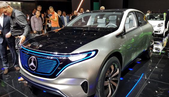 Mercedes-Benz запускає новий бренд EQ