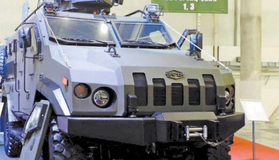 Бронеавтомобіль «Варта» витримує підрив 6 кг заряду в тротиловому еквіваленті (Фото)