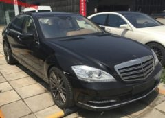 Виявили партію покинутих нових Mercedes S-Class (Фото)
