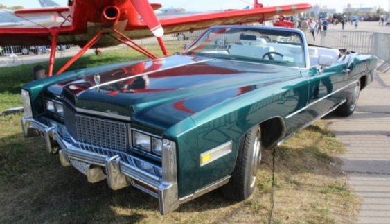 В Україні показали ексклюзивний і рідкісний Cadillac Eldorado (Фото)