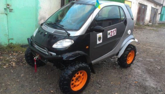 Як українські автовласники модифікують Smart (Фото)