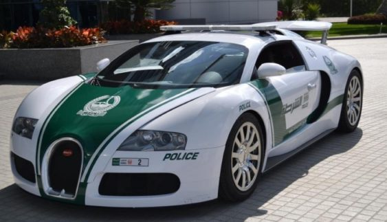 ТОП-5 найбільш незвичайних поліцейських автомобілів (фото)