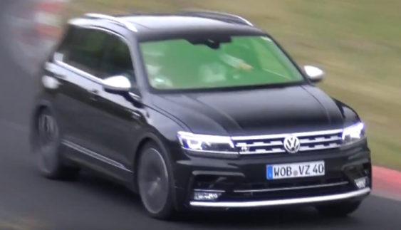 Volkswagen готує потужний варіант Tiguan (Відео)