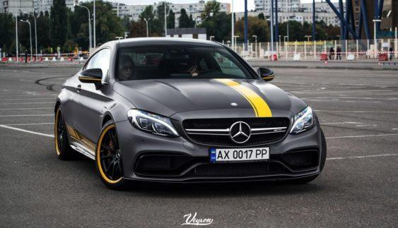 Засвітився єдиний в Україні Mercedes-AMG C63 S Coupe Edition 1 (Фото)