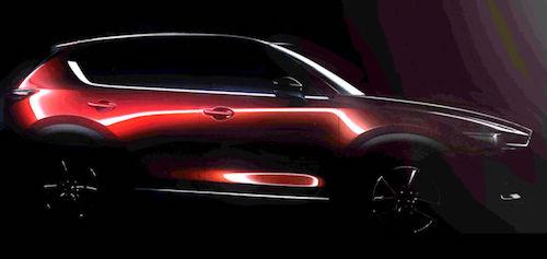 Mazda опублікувала перший тизер нового кросовера CX-5