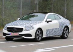 Перші зображення нового Mercedes-Benz E-Class Coupe