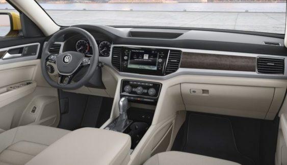 Салон великого кросcовера Volkswagen Atlas став зразком ергономіки (Фото)