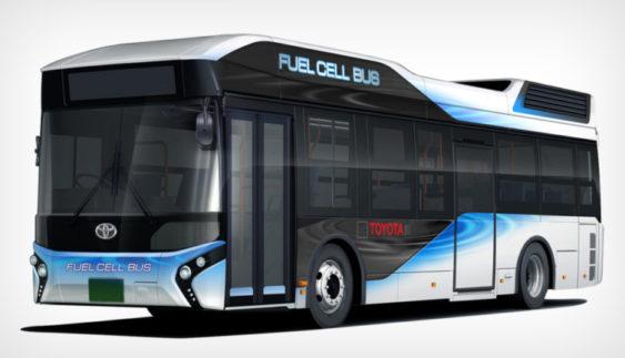Toyota займеться випуском великих автобусів