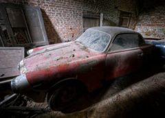 У старовинному замку знайшли вражаючу колекцію раритетних авто (Фото)