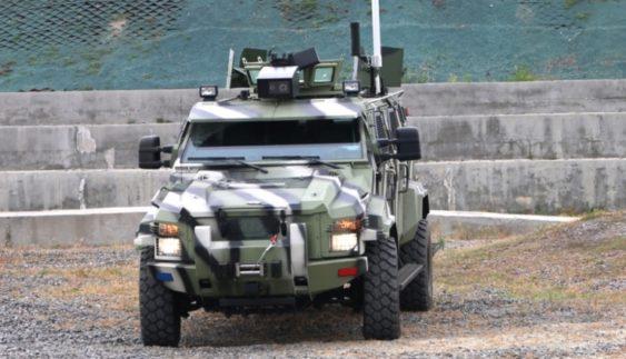 Машина, що воює без бійця. Українці розробили безпілотний броньовик (Відео)