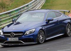 Прототип Mercedes-AMG C 63 виїхав на тести