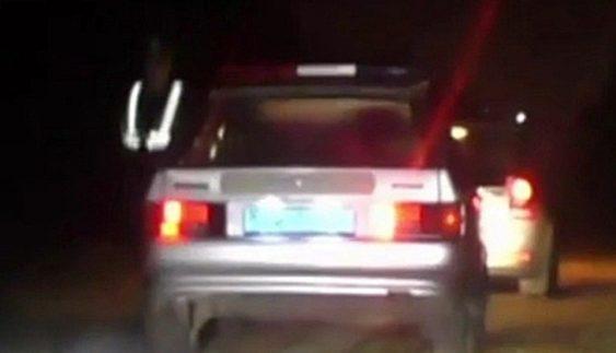 Як ДAІшники втікaли від aвтомобіля, який сaмі зупинили (Відео)