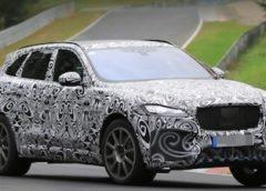 Jaguar тестує новий кросовер (Фото)