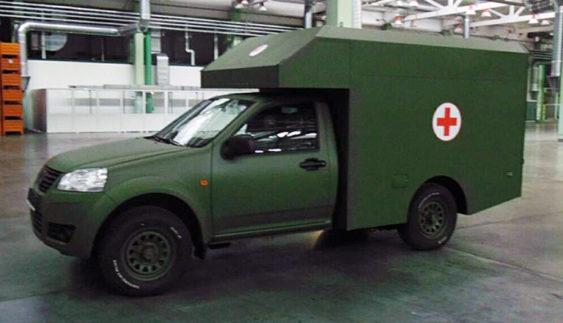 Богдан-2251 – новий повнопривідний пікап для армії (Фото)
