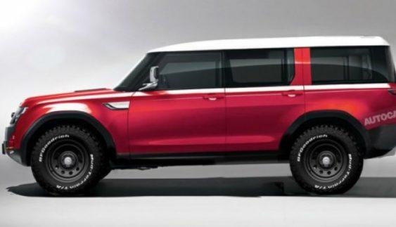 Land Rover представив новий позашляховик Defender (Фото)