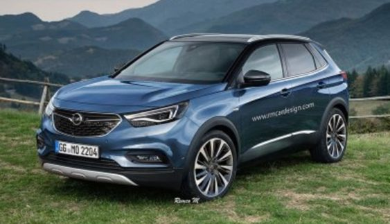 Opel анонсував новий кросовер Grandland X