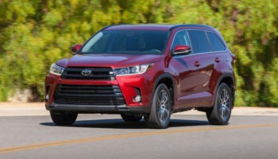 Відома вартість нового Toyota Highlander
