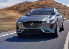 Jaguar I-Pace – концепт першого електромобіля марки (Фото)