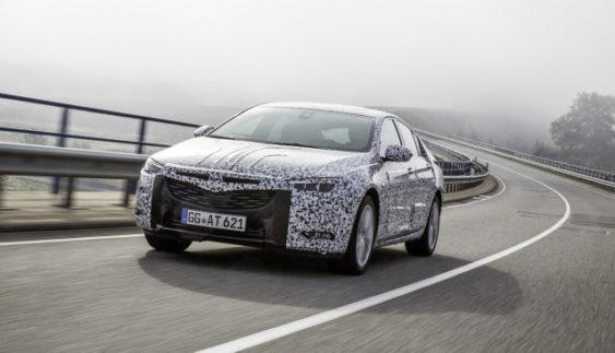 Opel тестує нове покоління Insignia