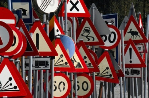 В Україні з'являться нові дорожні знаки (Фото)