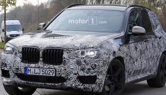 З'явилися нові фото BMW X3