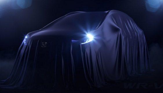 Honda показала останній тизер нового кросовера WR-V