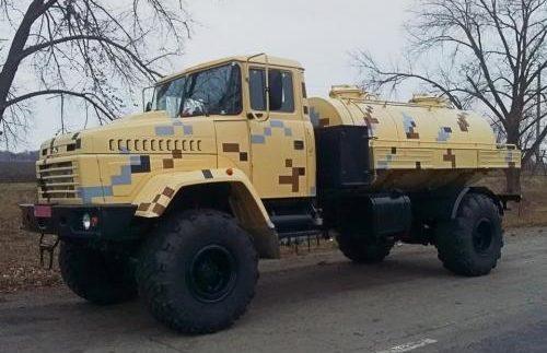 КрАЗ розробив автоцистерну на повноприводному шасі 5233ВЕ