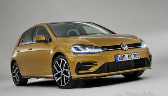 Volkswagen оприлюднив офіційні фото Golf 2017 модельного року
