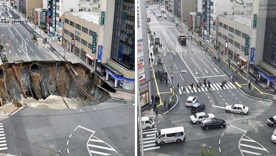 Японці показали, як слід ремонтувати дороги (Відео)