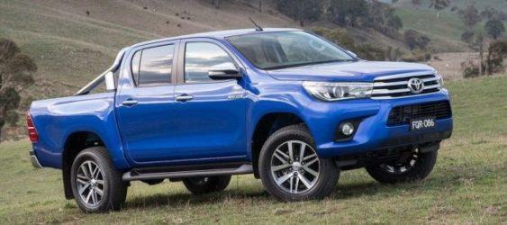 Toyota Hilux стала найпопулярнішим пікапом в Україні