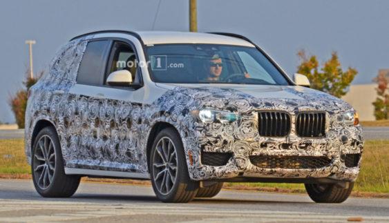 BMW готує до презентації кросовер Х3 нового покоління