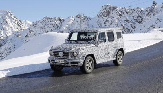 Mercedes-Benz вивів на випробування новий «Гелендваген» (Фото)