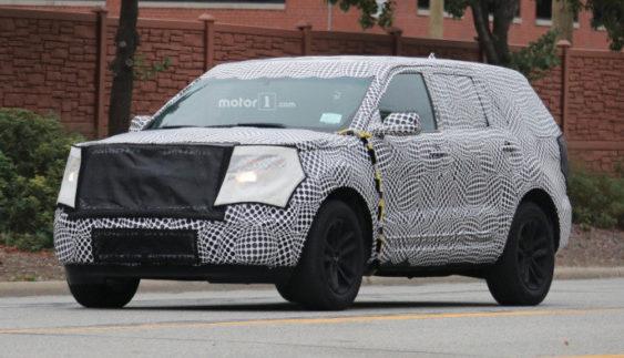 2019 Ford Explorer помічений під час тестів